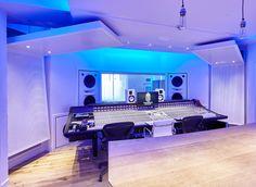 The Church Studios London - RPG BAD Expo Panels & Spigo Acoustic Wood - available from Acoustic GRG  #acoustics #recordingstudio