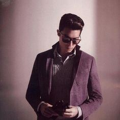 When his hair looked good pushed back. | 43 Times Daniel Henney Ruined You For Other Men