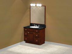 Interior Design Software, Vanity, Bathroom, Vanity Area, Bath Room, Lowboy, Dressing Tables, Bathrooms, Single Vanities