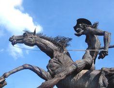 Monumento de El Quijote en La Habana