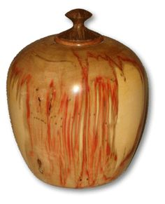 Wooden Urn: Box Elder