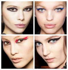 Creative Eyeliner for Fall 2012.   Photo: MUQueen