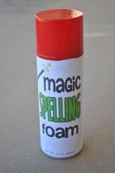 Turn any can of shaving cream into Magical Spelling Foam with this free label. It adds a spark of fun and novelty to practicing spelling words.