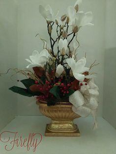 Christmas magnolias