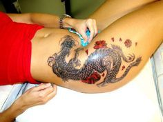 27 Meilleures Images Du Tableau Tatouage Dragon Tatouage Dragon
