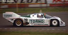 RSC Photo Gallery - Silverstone 1000 Kilometres 1985 - Porsche 962 no.19 - Racing Sports Cars