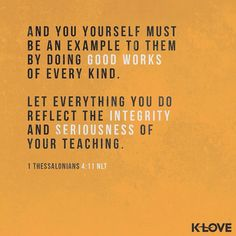 ENCOURAGING WORD via @kloveradio  Likewise exhort the young men to be sober-minded in all things showing yourself to be a pattern of good works; in doctrine showing integrity reverence incorruptibility sound speech that cannot be condemned that one who is an opponent may be ashamed having nothing evil to say of you. Titus 2:6-8 NKJV  http://ift.tt/1H6hyQe  Facebook/smpsocialmediamarketing  Twitter @smpsocialmedia