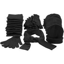 Keep warm in cold weather, one size , black, 10 set