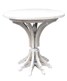 Noir Ashley Side Table - Vintage Grey $840  28 h x 28 dia