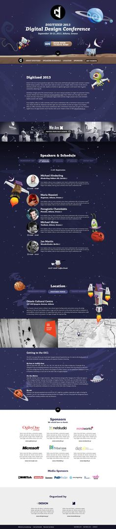 Unique Web Design, Digitized 2013 #WebDesign #Design