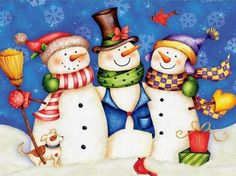 Snowman ❄️ Snow Women