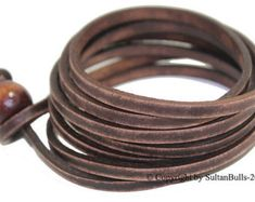 JOHNNY DEPP estilo cuero pulsera cuero por LeatherBraceletStore