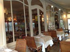La cigale Recamier for soufflés sweet and savory. 4 Rue de Recamier, Paris.