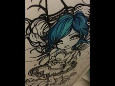 Mermaids Fairies Other Girls Of Whimsy Coloring Book By Hannah Lynn Flip
