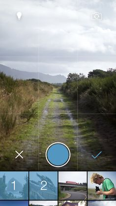 Tumblr iOS 7 Camera redesign / Peter Vidani