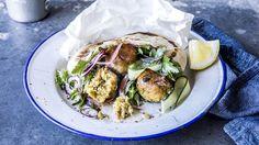 Fem måter å spise kikerter på - som ikke er hummus - Godt. Falafel, Frisk, Tzatziki, Tex Mex, Coleslaw, Hummus, Couscous, Feta, Tacos