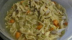 What are my kids eating?: Chicken noodle soup