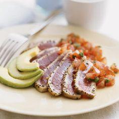 10 ways with Pacific albacore tuna | Seared Tuna with Japanese Salsa | Sunset.com