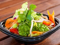 """Spicy Thai Garden Salad - """"Our Spicy Thai Salad is one of the top sellers at Market 64,"""" says nutritionist Elizabeth Shaw, R.D. """"It boasts a ton of flavor while still maintaining a stellar nutrient profile."""""""