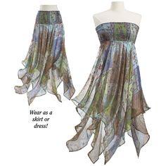 Gossamer Wings Dress/Skirt @Pyramid