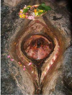 Devi's Yoni fell at kamakhya temple,Assam.This is one of most important shakti peeth of Goddess Adishakti