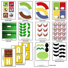 Super Mario Bros. Party - Birthday - Super Mario Bros. Inspired DIY CUSTOMIZED PRINTABLE party Invitation