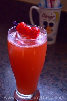 "The Disney Diner: ""Let It Glow"" (non-alcoholic) Drink Recipe (Disney's Hollywood Studios)"