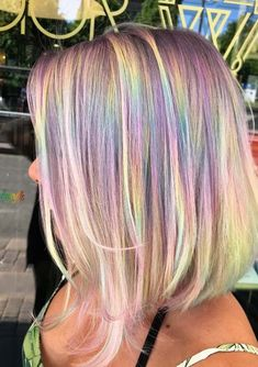 Check out the amazing trends of rainbow hair colors for short to medium, long and medium haircuts. We have rounded up here a list of modern ideas of rainbow hair colors for all those women who like to sport bold hair colors. Here you may learn step by step best techniques how to apply rainbow hair colors in 2018.