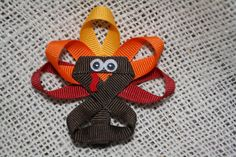 Turkey Bow. $6.00, via Etsy.