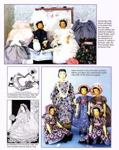 Hitty Dolls 2 Articles Janet Cordell Mary Lee Sundstrom Color Photos | eBay