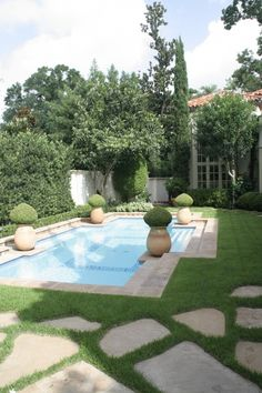 Just because we like all good design  georgianadesign:    Formal in Houston. McDugald-Steele Landscape Architects.