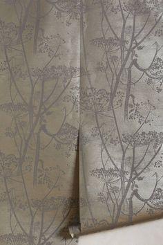 Slide View: 1: Queen Anne's Lace Wallpaper