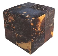 Cowhidesusa.com Cowhide Furniture, Tissue Holders, Ottoman, Decorative Boxes, Chair, Outdoor Decor, Home Decor, Wood, Brown