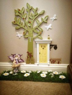 I love the idea of a tooth fairy door, will defo be doing this!