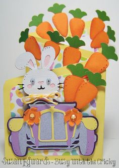 Busy with the Cricky: Easter Bunny Roadster