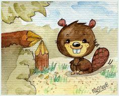 Bruce the Beaver by =yuki-the-vampire on deviantART