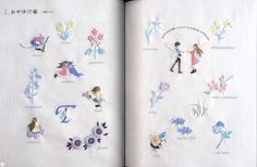 Pined by nidnirandAnna's Small Embroidery Designs Japanese Craft Book by pomadour24