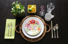 How to set and style a place setting brunch more