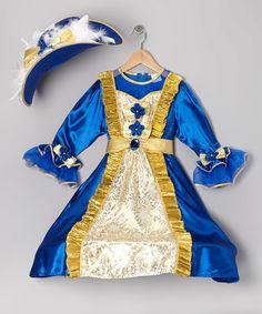 Loving this Blue Princess Dress-Up Set - Toddler & Girls on #zulily! #zulilyfinds