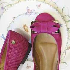 Pink Flat! #shoestock #verao15 #shoes #flats #pink #fashion - Ref 16.05.2370