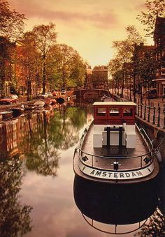 Amsterdam one of my favorite places to spend Spring Break,in my younger years