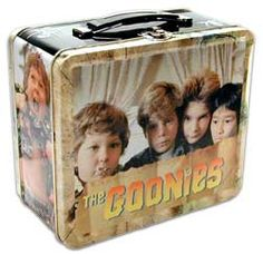 The Goonies Lunch Box Retro Lunch Boxes, Lunch Box Thermos, Cool Lunch Boxes, Metal Lunch Box, Bento Box Lunch, Retro Toys, Vintage Toys, School Lunch Box, Jem And The Holograms