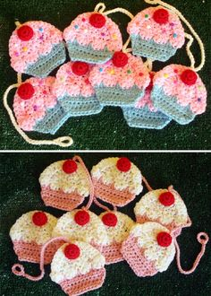 Crochet+For+Children:+How+To+Crochet+Your+Own+Cupcake+Garland
