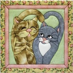 Quilt Magic 12-Inch by 12-Inch Cats Meow Kit :           Make a unique quilted wall hanging to decorate any room in the house. These kits are fun and easy to make because they require no special tools, sewing, or gluing. Each kit comes with pre-cut foam board, assorted fabrics, a pattern and detailed instructions for creating yo...