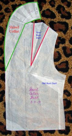 Success with the Shawl Collar Skirt Patterns Sewing, Coat Patterns, Clothing Patterns, Fabric Sewing, Techniques Couture, Sewing Techniques, Collar Pattern, Jacket Pattern, Barbie Clothes