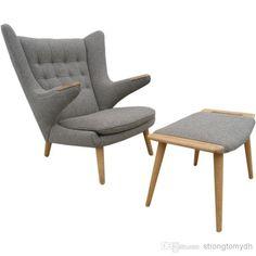Cheap Papa Bear Chair - Best Hans Wegner Papa Bear Chair with Ottoman Teddy Online with $1568.59/Piece | DHgate