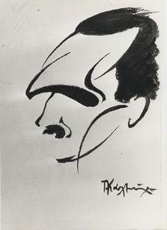 130 χρόνια Νίκος Καζαντζάκης Crete, Literature, The Past, Sketches, Deep Blue, Writers, Pictures, Painting, Chic