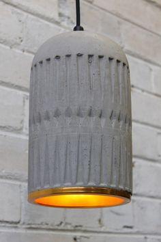 Concrete Pendant Light. Pendant lights online, concrete base - Fat Shack Vintage - Fat Shack Vintage