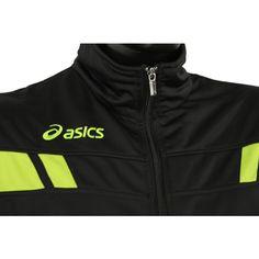 Asics Suit Player unisex melegitő fekete,lime Asics, Adidas Jacket, Lime, Suit, Athletic, Unisex, Jackets, Fashion, Moda