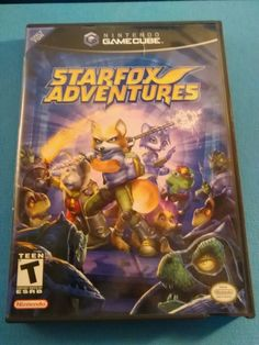 STAR FOX ADVENTURES --- GAMECUBE Complete CIB w/ Box, Manual Tested